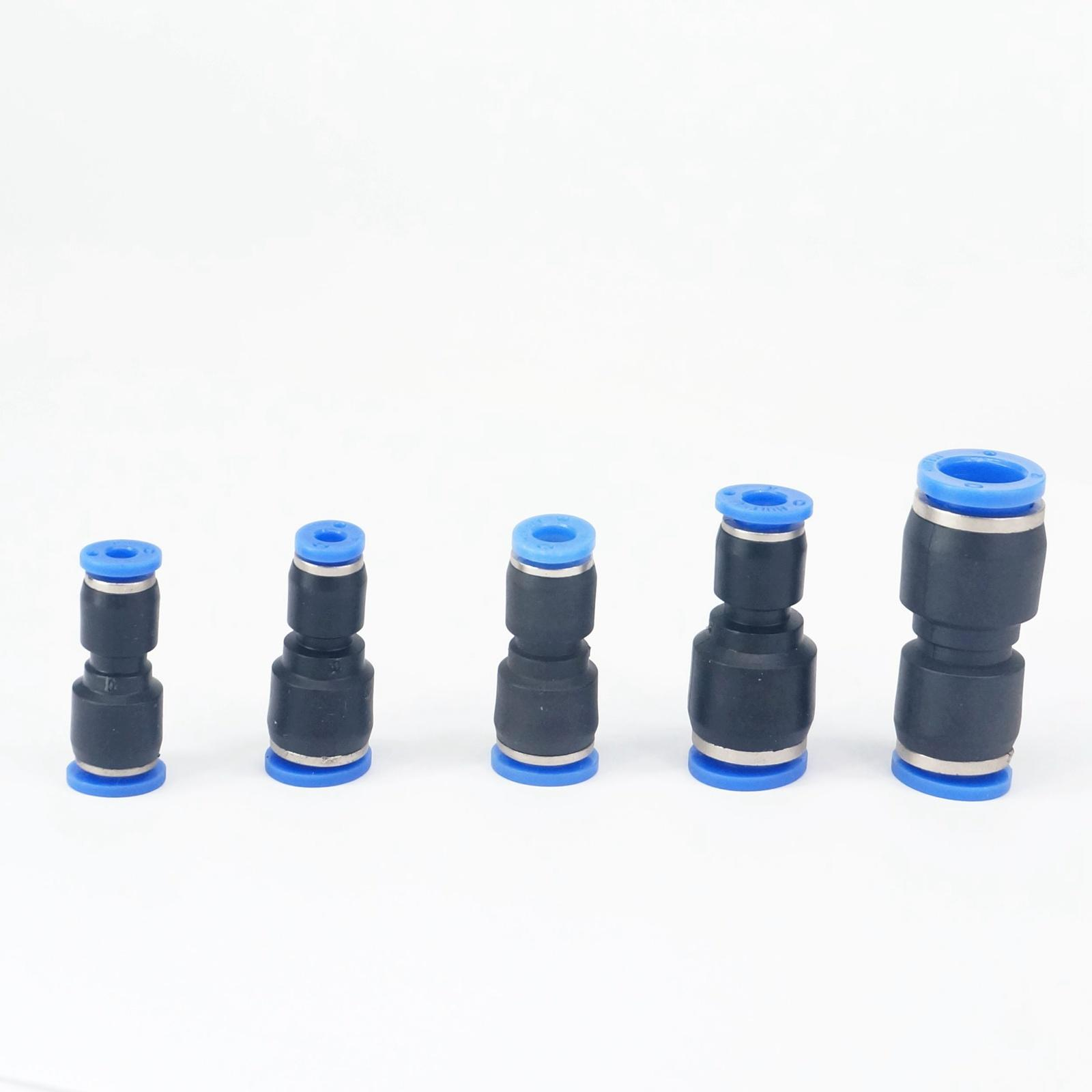 Sanitär Gehorsam 10 Stücke Fit Rohr O/d 4-6/6-8/8-4/10-6/10-8/12-8/12-10/16-12mm Reduzierung Pneumatische Pushfit Minderer Anschluss Fitting Um Jeden Preis