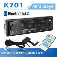 DAB Car Stereo MP3 Player Bluetooth RDS AUX AM FM Radio Receiver RCA Audio Digital Audio Broadcasting In Dash Head Unit