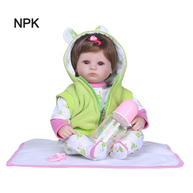 NPK Handmade Reborn Doll Baby Adorable Lifelike Rebirth Toddler Toys SetNPK Handmade Reborn Doll Baby Adorable Lifelike Rebirth Toddler Toys Set