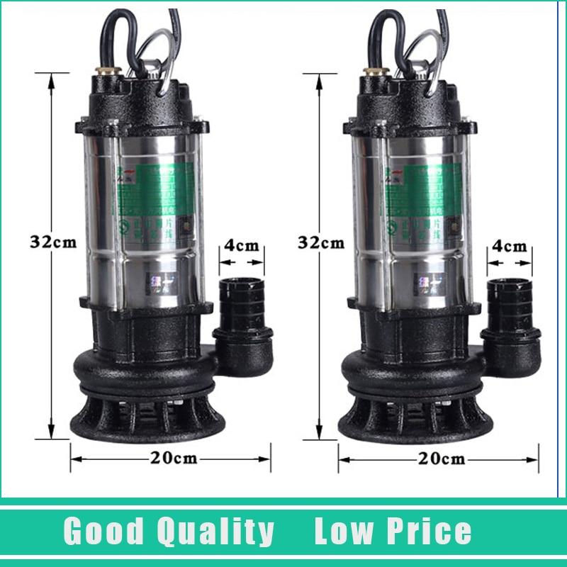 220 V Dompelpomp 28 M High Lift Waterpomp 1.5m3/h Schoon Water Circulatiepomp