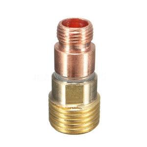 Image 4 - 49pcs 부품 가스 렌즈 + #10 pyrex 유리 컵 easy use 용접 토치 키트 wp tig 17/18/26 용 실용 액세서리 모듬