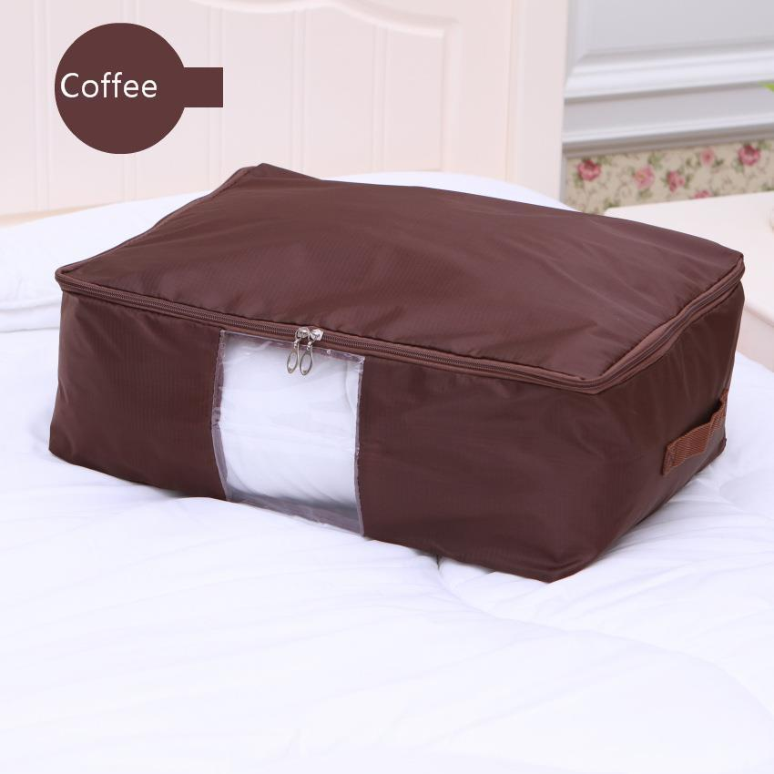 Image 5 - 2019 Oxford Cloth Quilt With Cotton Wadding Box Accept Storage Bag Strong Durable Can Wash Multicolor Optional Closet Organizer-in Storage Bags from Home & Garden