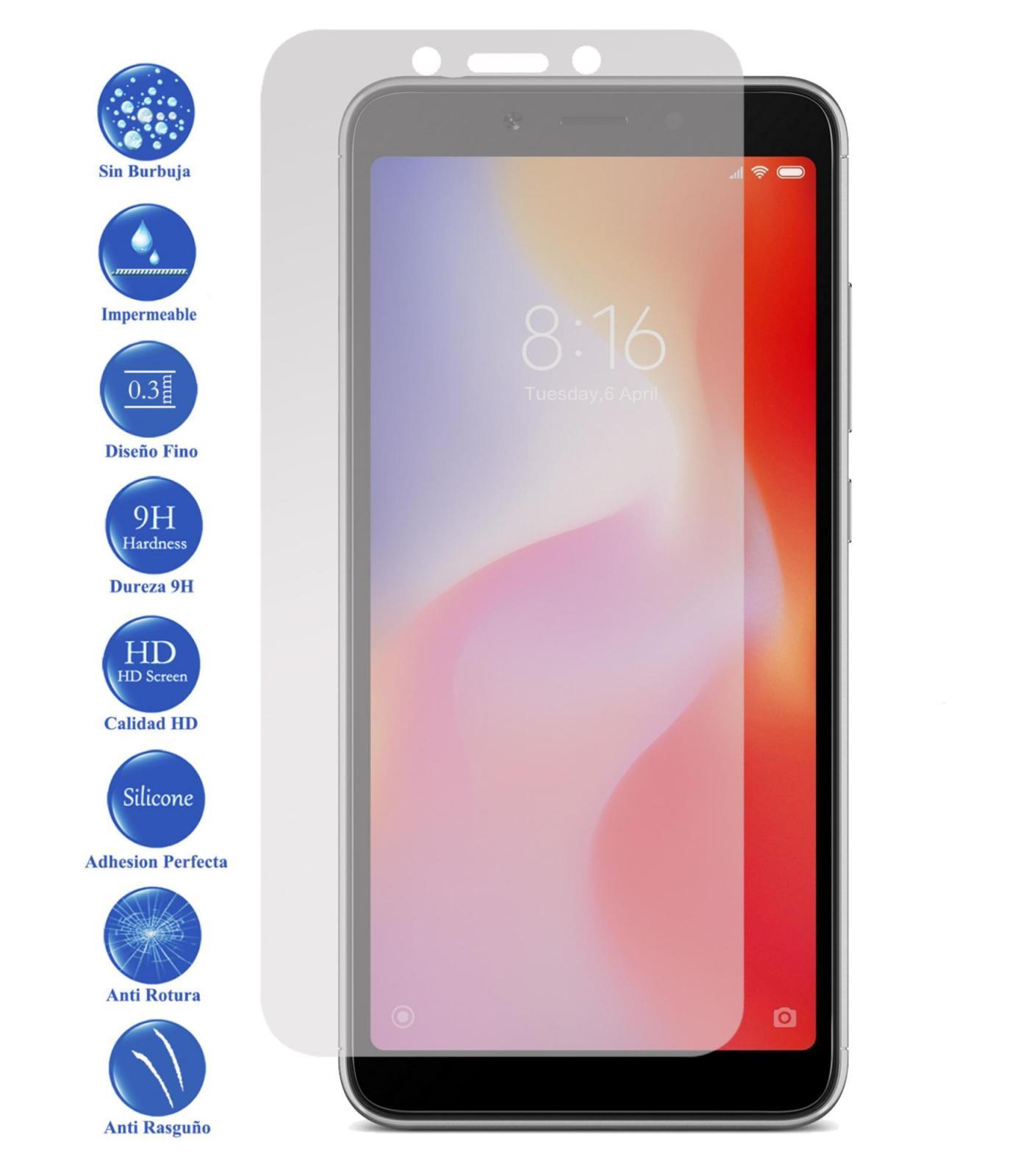 Tempered Glass LCD cover screen protector vidrio 9 H Premium for Xiaomi redmi 6A