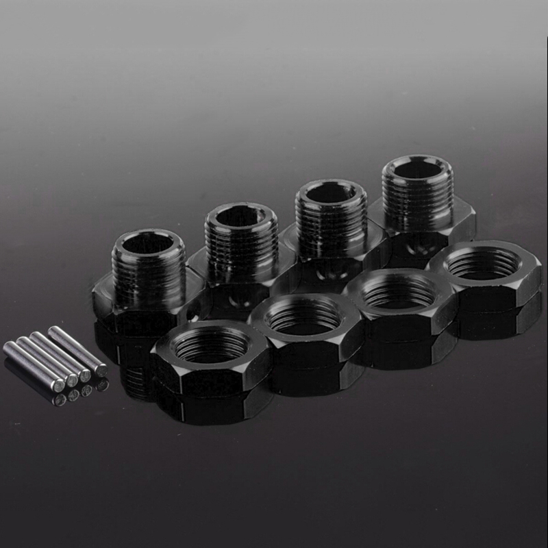 80122 RC Car 17mm 1/8 Wheel Hex Mount Nuts Axle Pin Kit For Remote Control Cars