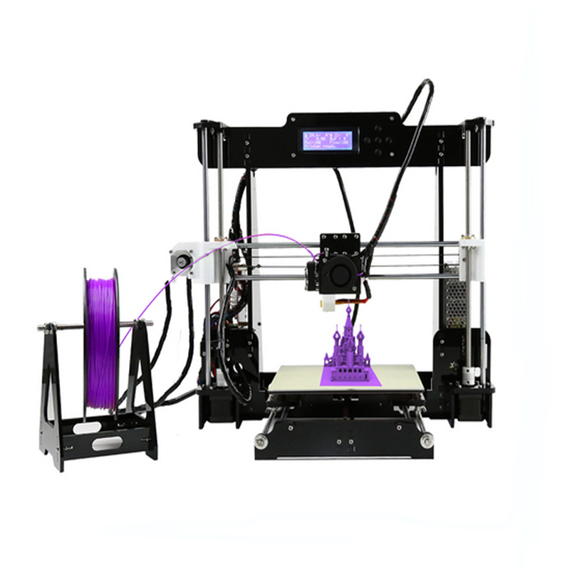 Upgraded 24V Power Anet 3d Printer Supply Reprap Prusa 3D Printer Kits Desktop Acrylic Frame Personal