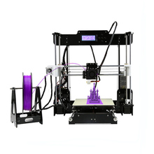 Upgraded 24V Power Anet 3d Printer Supply Reprap Prusa 3D Printer Kits Desktop Acrylic Frame Personal DIY Self-assembly Machine