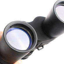 JINJULI 10-120 x 50 Zoom Binocular Telescope Outdoor High Power Central Adjustment Knob Blue Film Full-Coated Night Vision