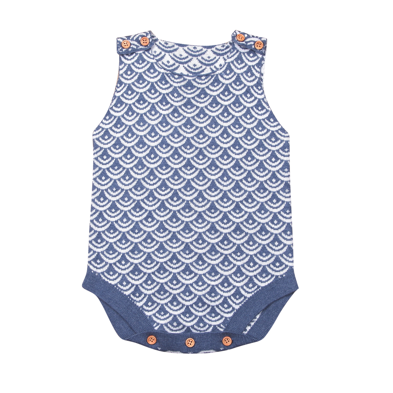 Emmbaby New Brand Newborn Infant Baby Boy Girl Knitted  Jumpsuit Sleeveless Bodysuit Outfits