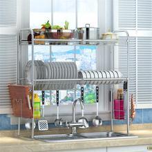 De Egouttoir Vaisselle Sink Etagere Malzemeleri Cosina Stainless Steel Mutfak Cocina Organizador Rack Cozinha Kitchen Organizer