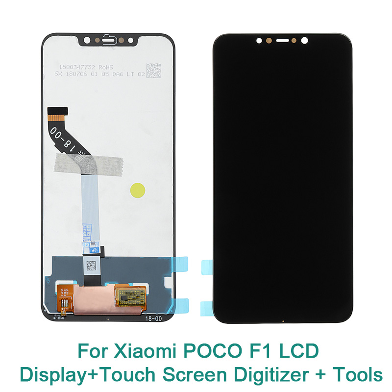Xiaomi Pocophone F1 LCD Display Frame 10 TouchScreen Panel for Xiaomi Poco F1 India LCD Digitizer Replacement Repair PartsXiaomi Pocophone F1 LCD Display Frame 10 TouchScreen Panel for Xiaomi Poco F1 India LCD Digitizer Replacement Repair Parts