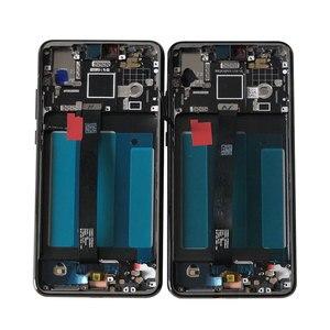 """Image 2 - الإطار الأصلي M & Sen 5.8 """"لهواوي P20 AL00 شاشة الكريستال السائل شاشة محول رقمي يعمل باللمس مع بصمة P20 EML L29 L22 L09 AL00"""