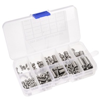 150Pcs/Set 304 Stainless Steel Thread Repair Insert Kit M3 M4 M5 M6 M8 With Box For Repair Tools Nut & Bolt Sets     -
