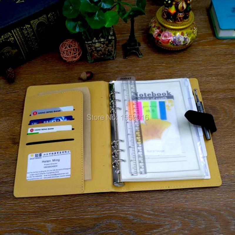 Mükəmməl Mənbə Notebook 2019 Planner A5 Gündəlik Üzük - Qeyd kitabçaları - Fotoqrafiya 5