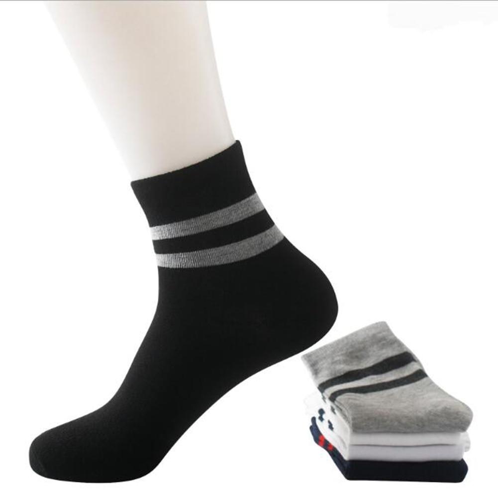ankle socks brand new cotton gift panda stripes grey everyday Black White