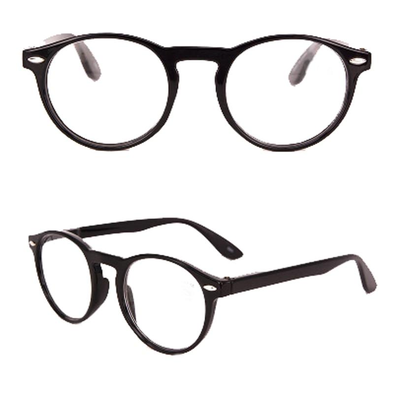 Mayitr Ретро ультра легкие круглые весенние петли очки для чтения женщин мужчин полный обод очки пресбиопии 4 цвета + 1,0 ~ 3,5