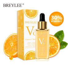 BREYLEE Vitamin C Serum Whitening Face Skin Care 40ml Dark Spots Repair Hyaluronic Acid Moisturizing Anti Aging Facial Essence
