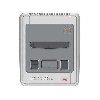 Retroflag-funda SUPERPi para Raspberry Pi 3B + 2B 3B, edición Deluxe, interruptor de apagado seguro