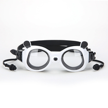 edc063817 Miúdos novos Do Bebê Dos Desenhos Animados de Natação Óculos de Proteção Impermeável  Anti-nevoeiro óculos de Natação Óculos de M..