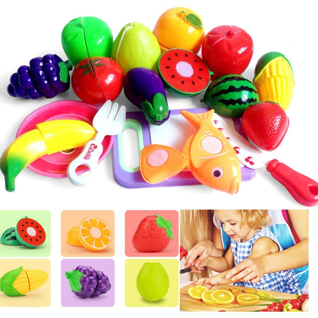 New Kids Children Girls And Boys Hand Game Cut Fruit Multi Over 3 Years Old Toy Set