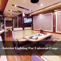 led warm 4x 12V Interior LED Spot Light Warm Light For Camper Van Caravan Motorhome Lamp (5)