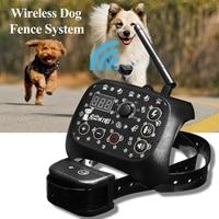Electronic Wireless Remote Dog Training Collar Fence System Dog Training Electric Shock Collar Pet Shop Dog Acessorios