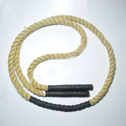 25mm X 3 M waga pomiń liny ważonej skakanki ciężkim treningu pominąć liny siłownia Fitness mięsień sprzęt do treningu siłowego d90506