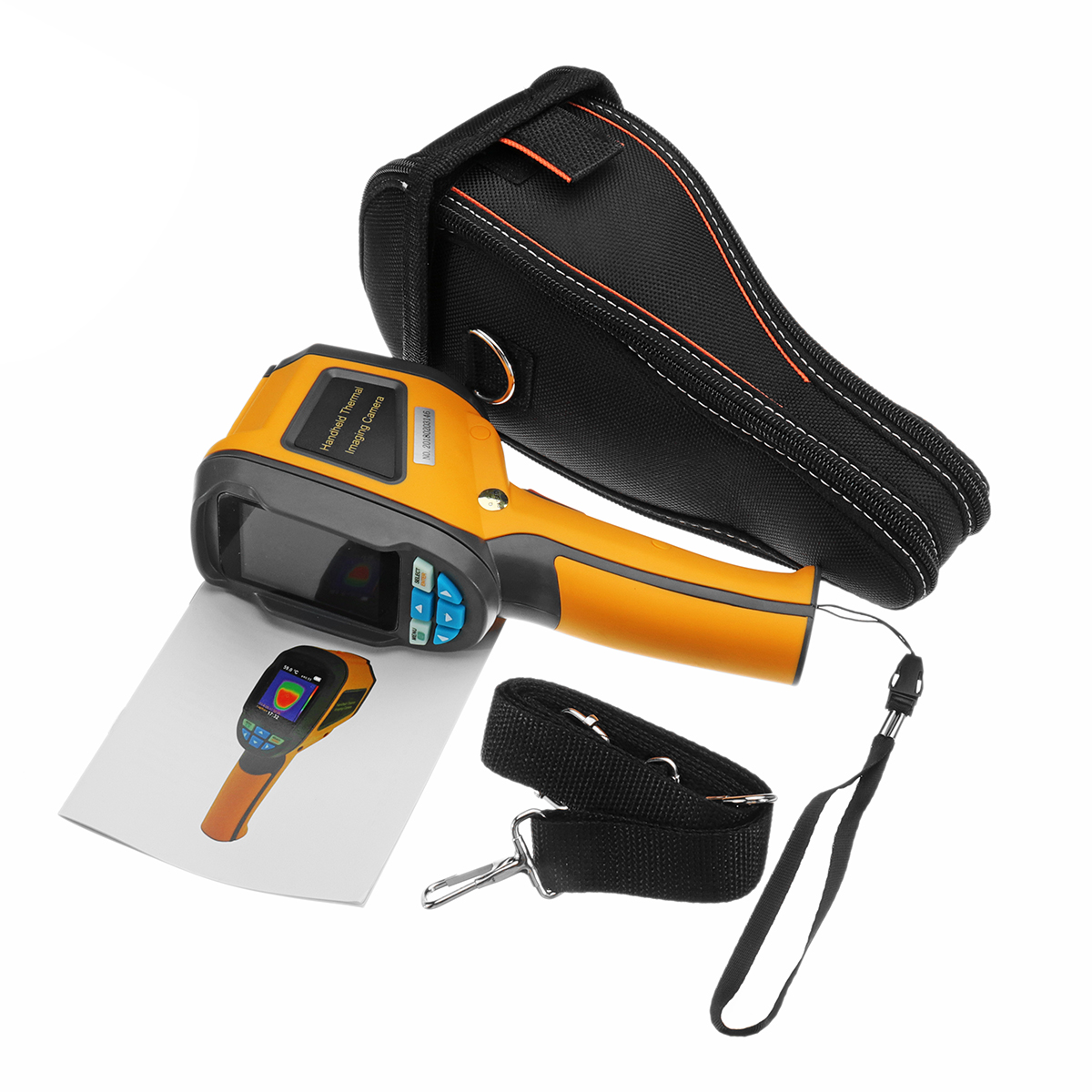 ZEAST HT-02 Handheld Thermal Imaging Camera Handheld Thermograph Camera Infrared Thermal Camera HT02 LCD Digital Infrared Imager reiner salzer infrared and raman spectroscopic imaging