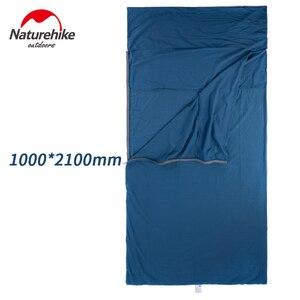 Image 5 - Naturehike Envelope Sleeping Bag Liner Cotton Ultralight Portable Camping Sheet Hiking Outdoor Travel Portable Hotel Dirty