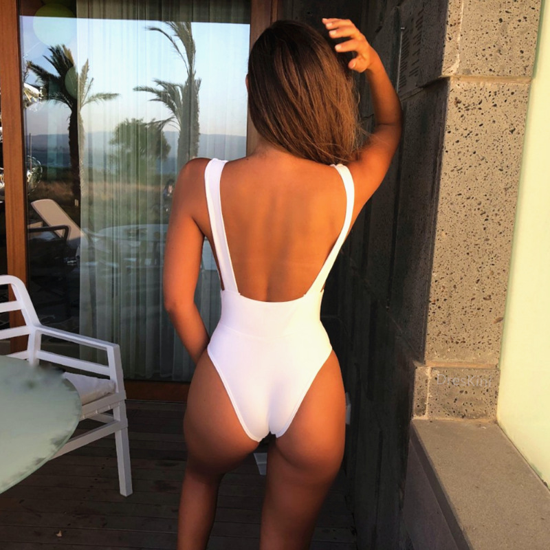 6f1f6359a55b Hirigin Sexy traje de baño de las mujeres 2019 verano de las mujeres traje  de baño profunda V una ...