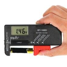 Универсальный тестеры аккумуляторной батареи батарея ёмкость тестер Электрический тестер 1,5 в 9 в AA AAA кнопки сотового метр проверки Вольт тестер