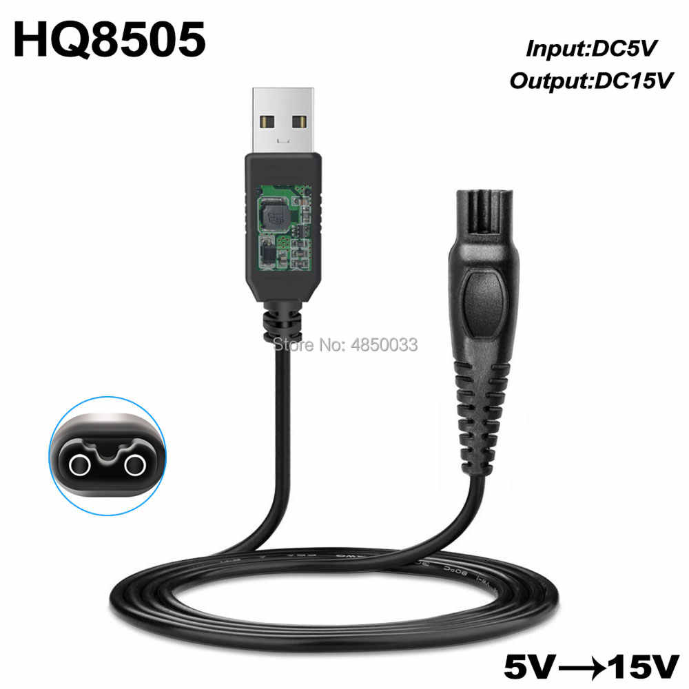 15V 5.4W DC Power Adapter Charger สำหรับ PHILIPS Norelco HQ8 HQ8505 HQ8500 HQ6070 HQ6073 HQ6076 HQ8885 HQ8445 HQ8893 PT860 AT890