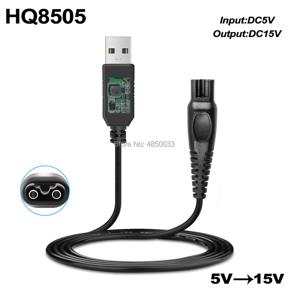 15V 5.4W DC Power <font><b>Adapter</b></font> Charger for <font><b>PHILIPS</b></font> Norelco HQ8 HQ8505 <font><b>HQ8500</b></font> HQ6070 HQ6073 HQ6076 HQ8885 HQ8445 HQ8893 PT860 AT890 image