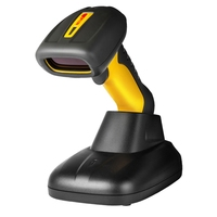 1D Bluetooth Barocde Scanner Wireless Barcode Scanner Bar Code Reader For Warehouse With Charger Stand