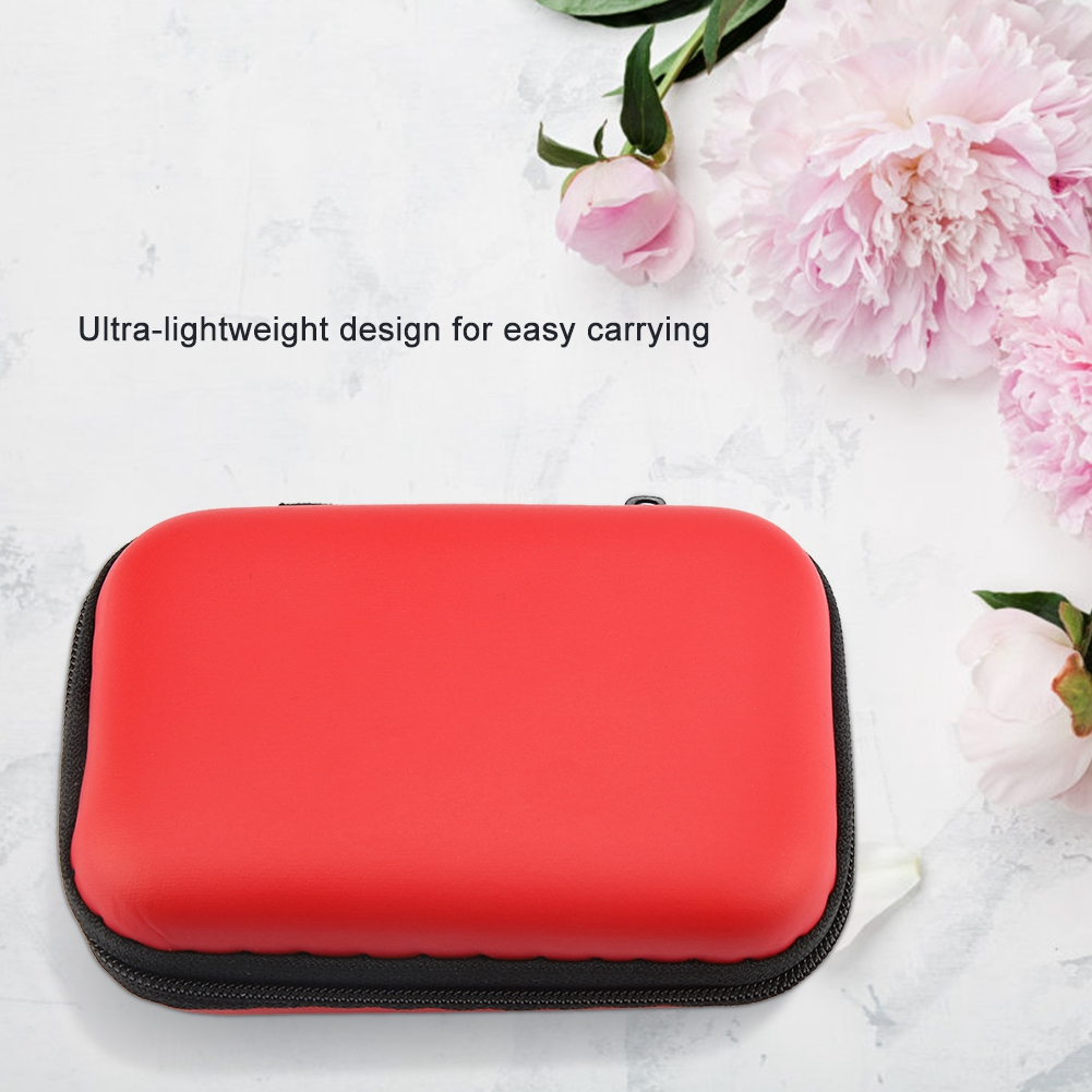 Portable Case for Headphones Case Mini Earphone Fashion Storage Case Carry Pouch Bag Box for Earphone USB Case