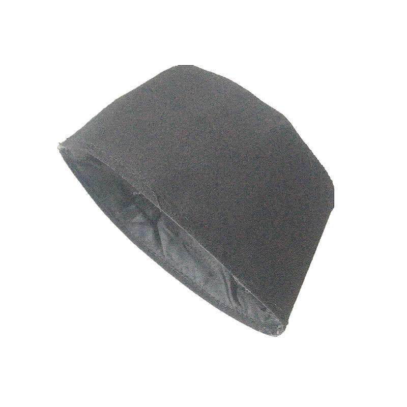 2c3d657ab8403 ... Customized Black Cotton Mens Islamic Muslim Prayer Hats Kufi Skull Cap  Beanie Egyptian Khanqahi Turkish Caps ...