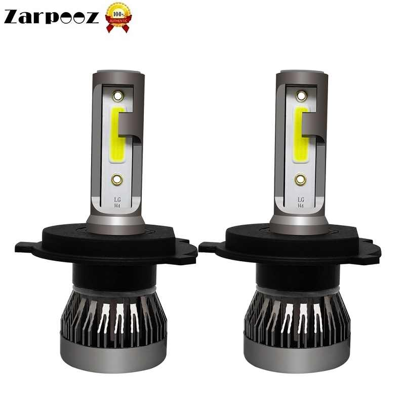 Zarpooz Mini Car Headlight Bulbs H7 LED H8 H9 H11 Headlamps 2pcs A Set 9005 HB3 9006 HB4 Auto LED Light