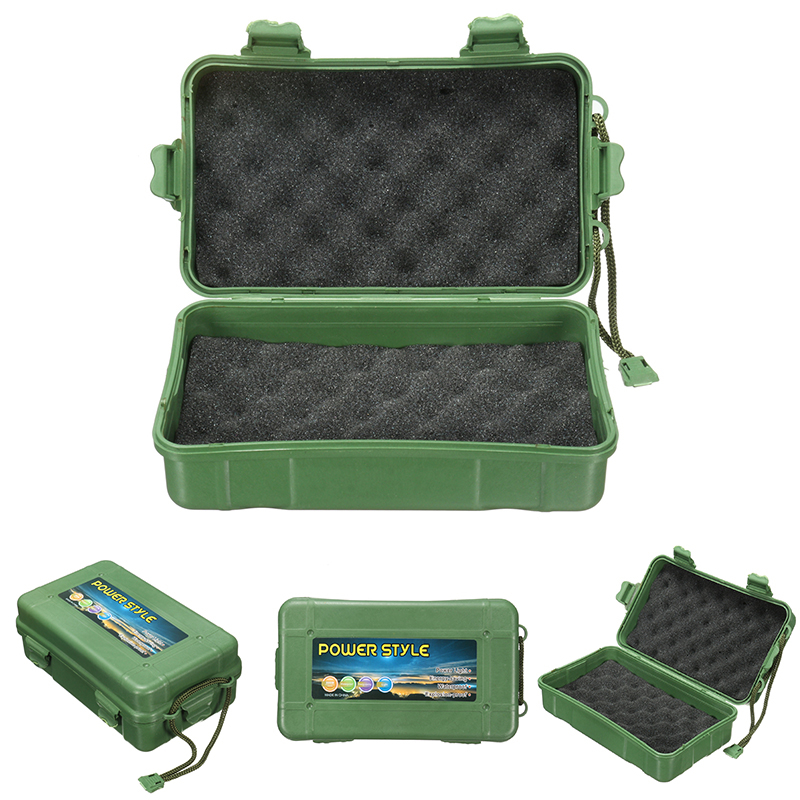 Sizes Waterproof Shockproof Plastic Outdoor Survival Container Storage Case Box
