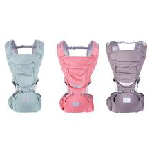 купить Multifunctional Newborn Kangaroos Hipseat Baby Carrier Infant Front Facing Prevent O-Type Legs Ergonomic Sling Backpacks по цене 1092.93 рублей