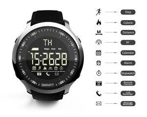 Image 3 - Lokmat MK18 Intelligente Della Vigilanza di Sport LCD Impermeabile Contapassi Messaggio di Promemoria BT di Nuoto Degli Uomini Smartwatch Cronometro per ios Android