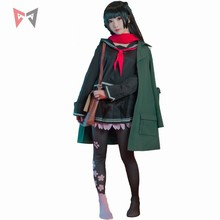 cos 新女子最前線コスプレ衣装 1OO ファッションスカーフジャケットスカート服ガール女性アニメ日常生活セット