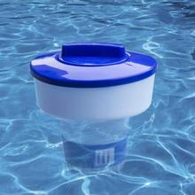 Swimming Pool Spa Chlorine Bromine Chemical Tablet Auto-Supplier Floater Dispenser Afloat Disinfect Pill Case
