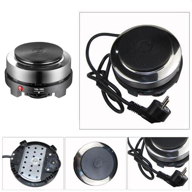 Image 4 - 500W Mini Electric Heater Stove Hot Cooker Plate Milk Water Coffee Heating Furnace Multifunctional Kitchen ApplianceHot Plates   -