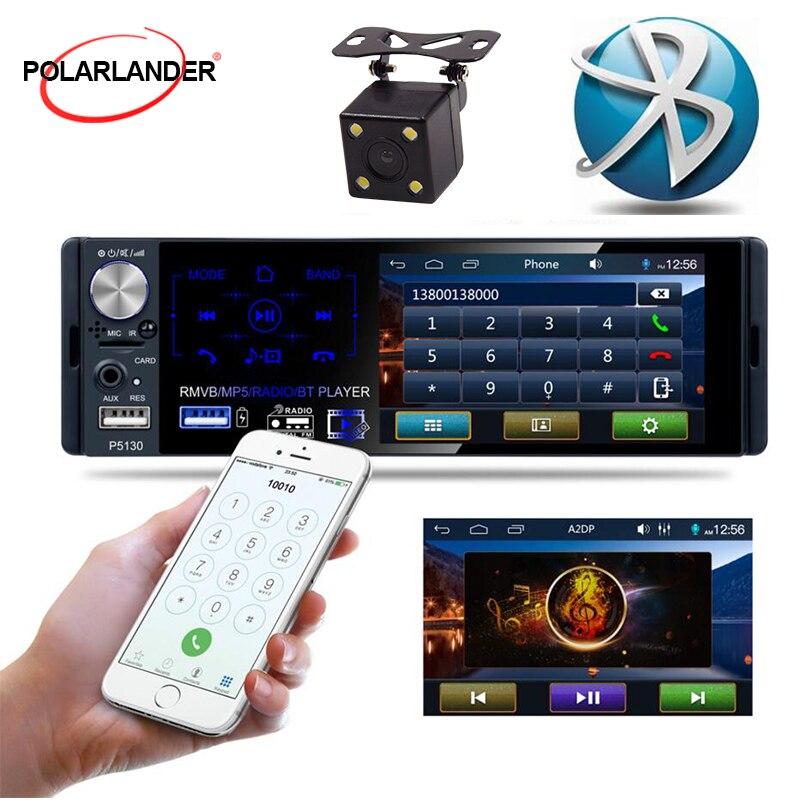 1 récepteur de voiture Bluetooth stéréo lecteur multimédia 4.1