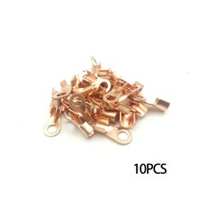 Free shipping 10PCS Wire Terminal Copper Joint Wire Connector Open Copper Nose OT10A 20A 30A 40A 50A
