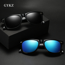 GYKZ Brand Unisex Retro Sunglasses Polarized Lens Vintage Eyewear Accessories Sun Glasses For Men Мужские солнцезащитные очки