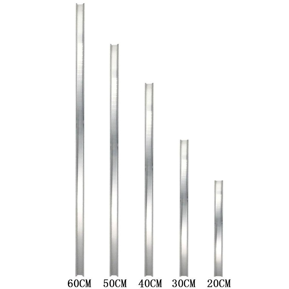 Disipador de calor de Gaza para el LED de bulbo 10Cm 12Cm 20Cm 30Cm 40Cm 50Cm 60Cm de aluminio LED de tira de refrigeración del radiador de la Junta barra lámpara LED luces 85-265 V, luz infrarroja para interiores y exteriores, Sensor de movimiento, retardo de tiempo, interruptor PIR de iluminación para el hogar, lámpara nocturna sensible Led