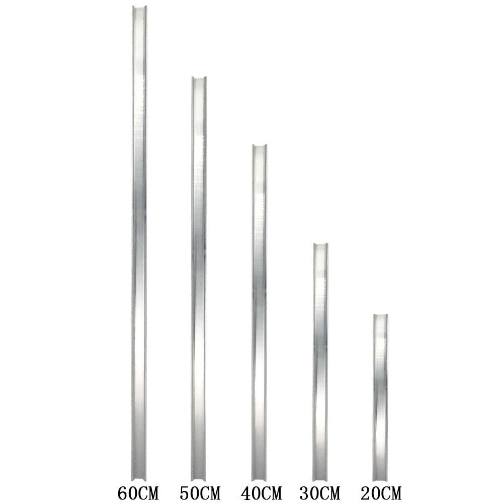 Heatsink Strip For LED Bulb 10Cm 12Cm 20Cm 30Cm 40Cm 50Cm 60Cm Aluminum Strip LED Radiator Cooling Board For LED Lamp Bar Lights