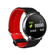 Round Screen T8 Bluetooth Smart Bracelet Heart Rate Blood Pressure Monitoring Sports Health Watch