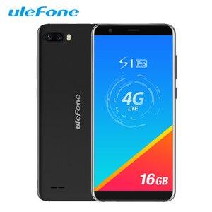 Image 1 - هاتف Ulefone S1 Pro محمول يعمل بنظام الأندرويد 8.1 5.5 بوصة 18:9 MTK6739 رباعي النواة 1GB RAM 16GB ROM 13MP + 5MP كاميرا خلفية مزدوجة 4G هاتف ذكي
