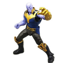 SHF Thanos 16 cm Figma Vingadores Da Marvel Legends Infinito Guerra Do Homem Aranha Homem De Ferro Capitão América Thor Hulk Action Figure Toy presente(China)